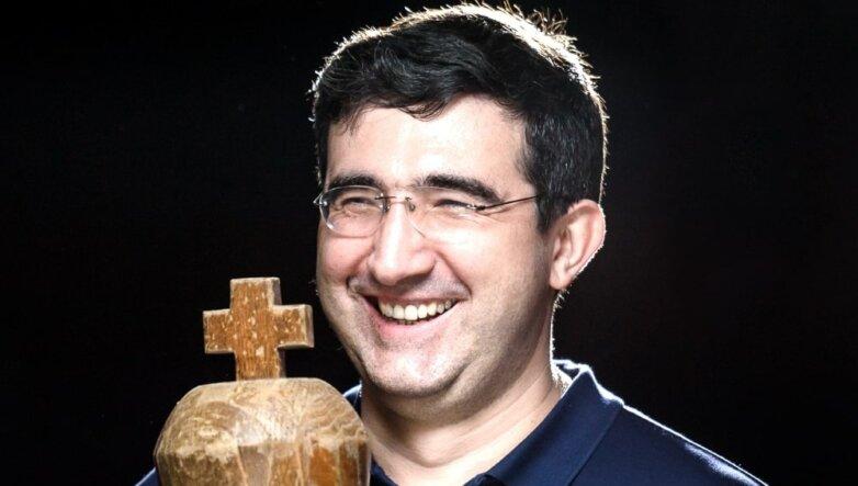 Российский шахматист Виктор Крамник