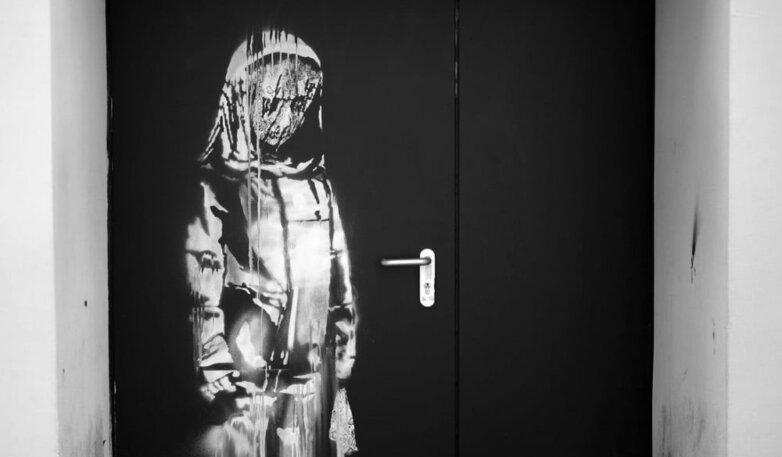 Граффити Бэнкси о теракте в концертном зале «Батаклан»