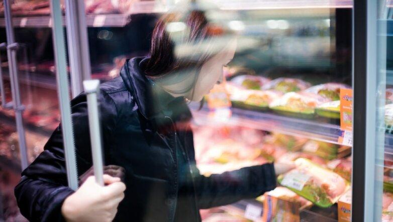 Куриная грудка, магазин, супермаркет, покупатель