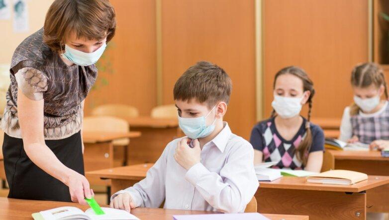 Школа, карантин, ГРИПП, ОРВИ, вирус, маска