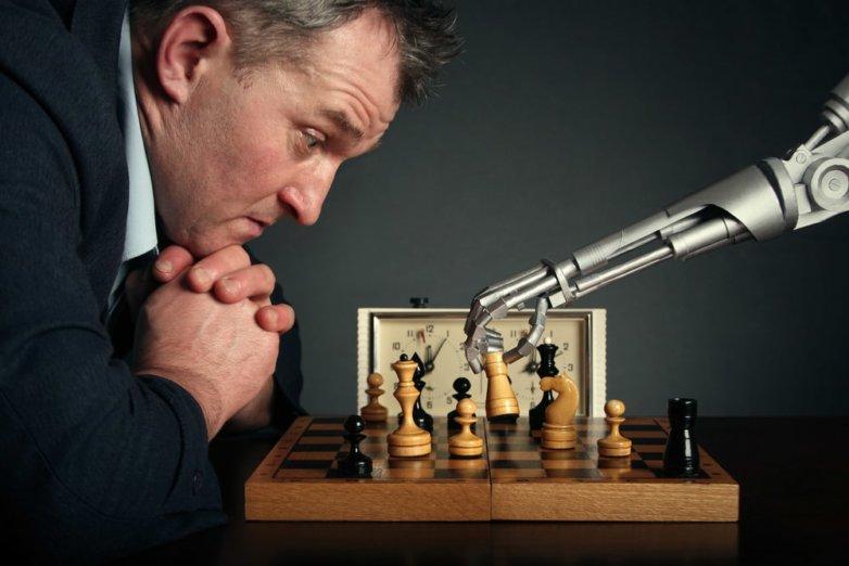 Искусственный интеллект, робот, шахматы