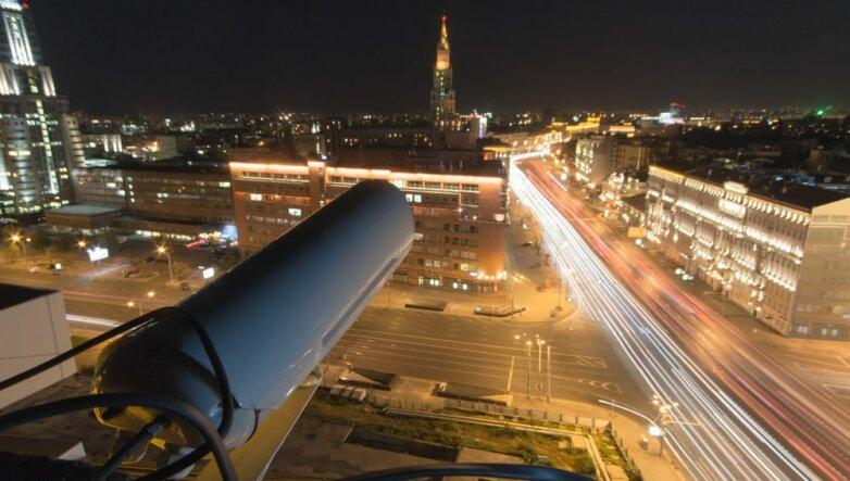 Камера наблюдения, Москва