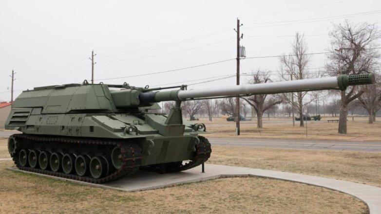 155-миллиметровая самоходная гаубица Crusader армии США