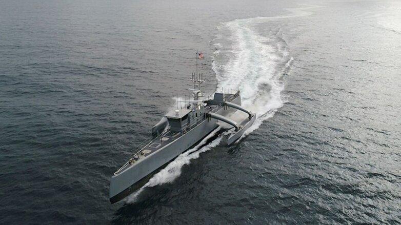 Американский корабль-беспилотник SeaHunter