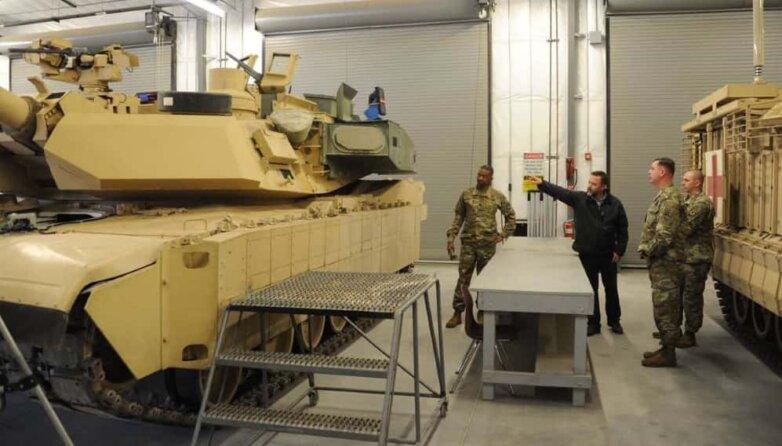 Танк Abrams M1A2C, армия, США