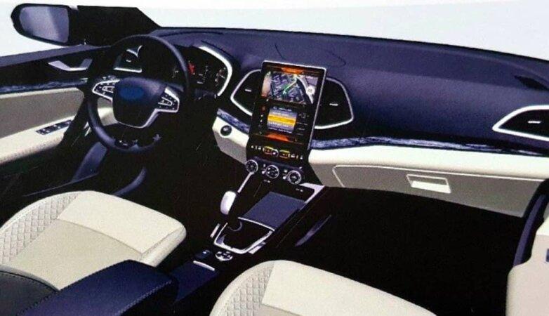 Интерьер будущей Lada Vesta FL