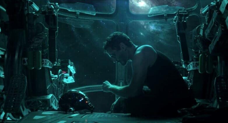 Кадр из фильма Мстители: Финал, MARVEL