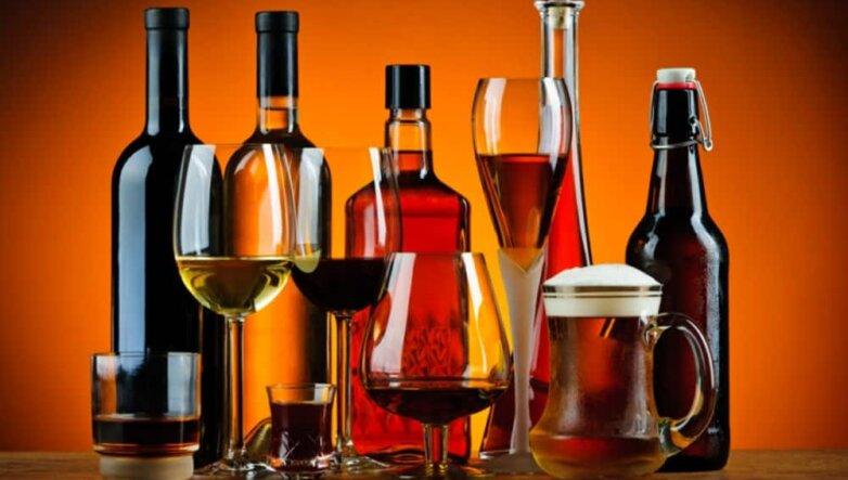alcohol Алкоголь бокалы бутылки