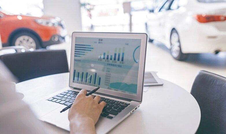 Автомобильный онлайн-магазин
