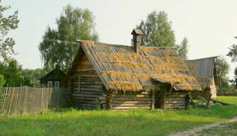 Дачный дом, хозяйственная постройка