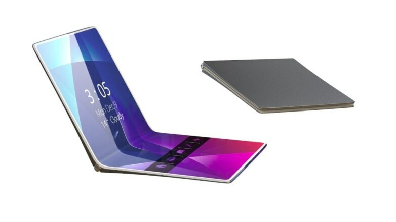 huawei flexible folding phone гибкий складной смартфон