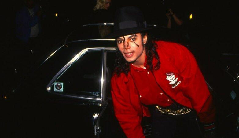 Певец Майкл Джексон