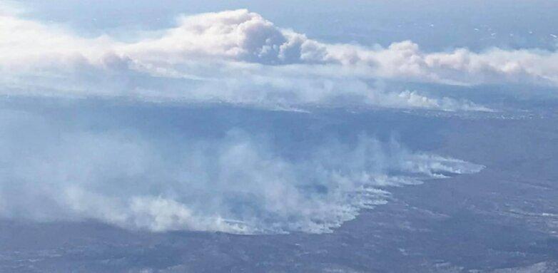 Хабаровск, природные пожары в пригороде