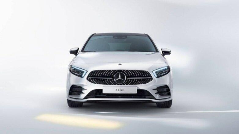 Mercedes-Benz A-class, Мерседес