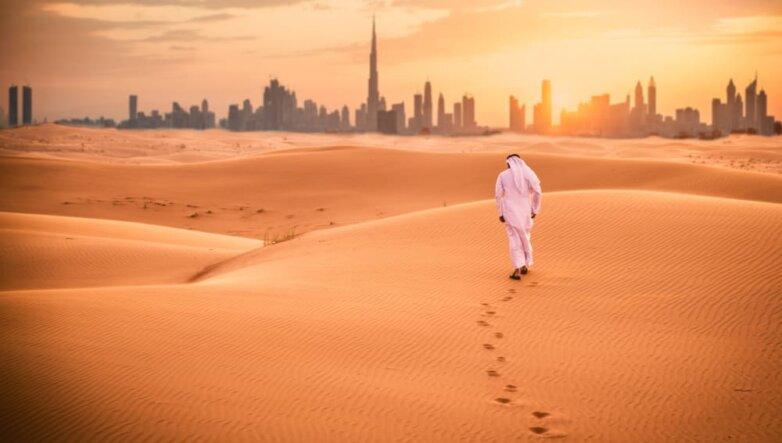 Объединенные Арабские Эмираты, Дубай, пустыня