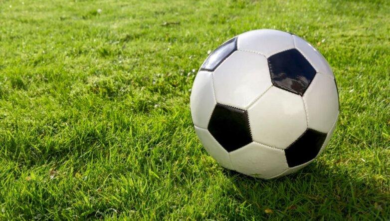 Футбол, мяч, трава, поле