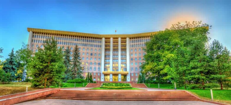 Молдавский парламент, Кишинёв