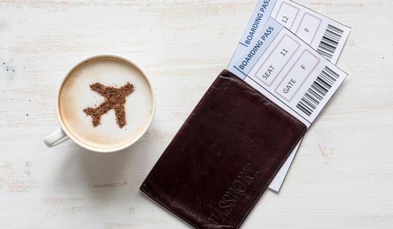 Пассажирский билет, самолёт