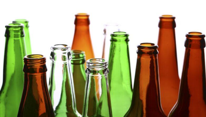 Стеклянные бутылки, тара