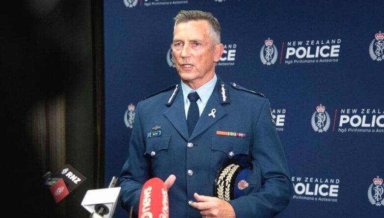 Комиссар полиции Новой Зеландии Майк Буш