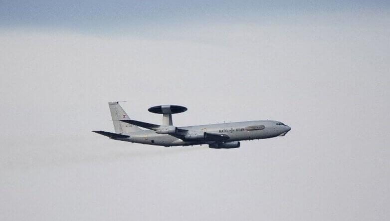 Самолет дальнего радиолокационного обнаружения Boeing E-3A, NATO, НАТО