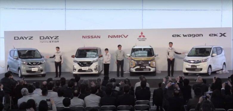 Nissan Dayz, Nissan Dayz Highway Star, Mitsubishi eK wagon, Mitsubishi eK X
