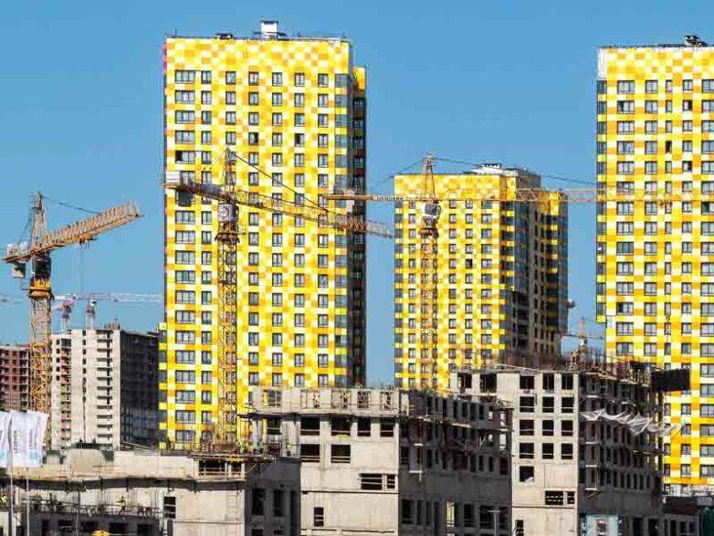 Жилищное строительство в Санкт-Петербурге