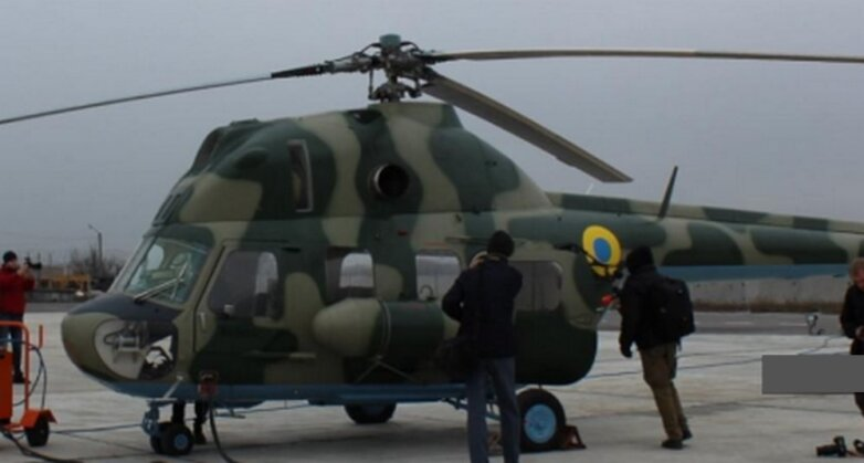 Ми-2МСБ — украинский вариант модернизации советского многоцелевого вертолёта Ми-2