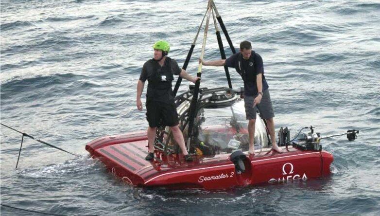 Проект Nekton Mission, Индийский океан, субмарина