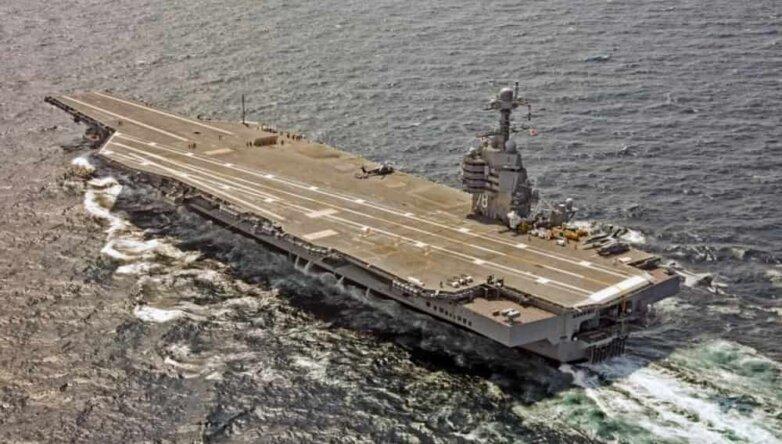 Авианосец ВМС США «Джеральд Форд» / USS Gerald R. Ford (CVN-78)