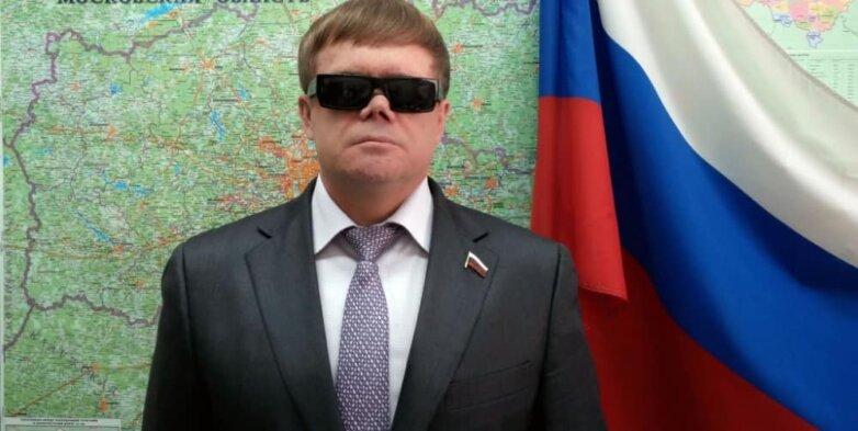 Вице-президент Всероссийского общества слепых и депутат Мособлдумы Владимир Вшивцев