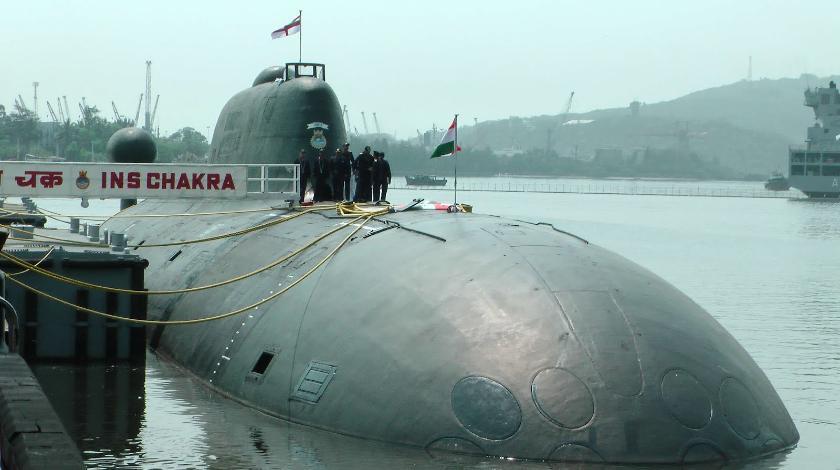 Атомная многоцелевая подводная лодка К-152 «Нерпа» проекта 971. По индийской классификации: S72 Chakra