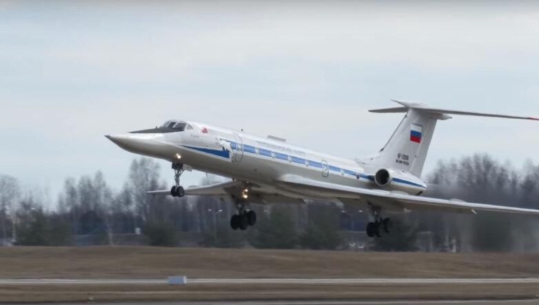 Самолет ВМФ России - Ту-134УБЛ