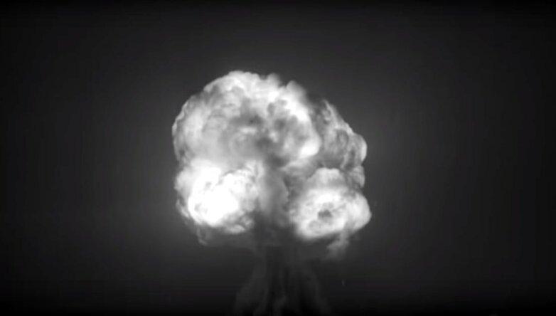 Испытание первой атомной бомбы Trinity