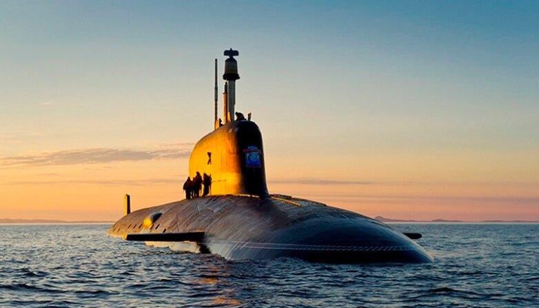 Подводный атомный ракетоносец «Борей», подводная лодка