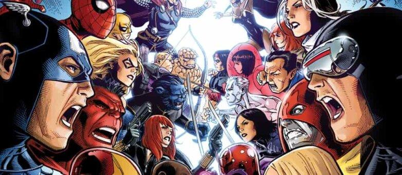 Обложка комикса «Мстители против Людей Ик