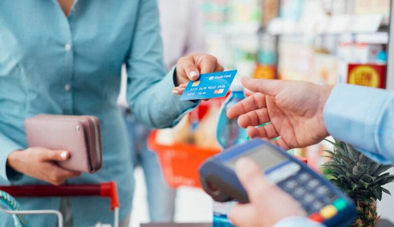 Кредитная пластиковая карточка, безналичный платеж