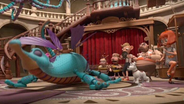 Кадр из мультфильма «Гурвинек. Волшебная игра»