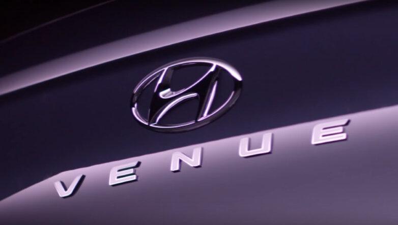 Тизер Hyundai Venue