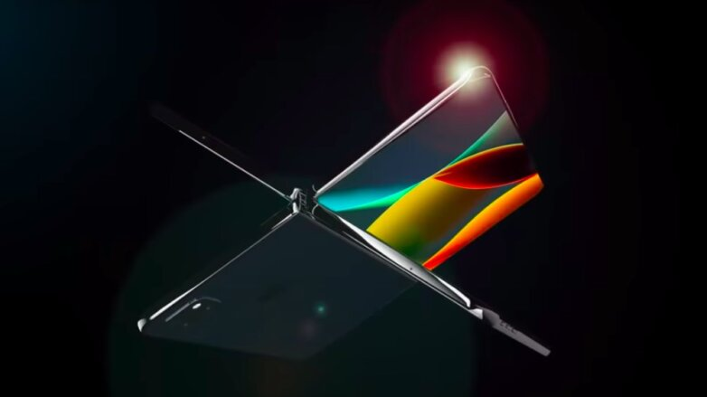 Складной смартфон Apple iPhone X Fold