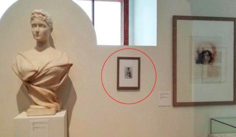 Лишняя картина в Историческом музее