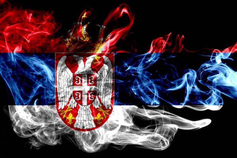 Сербия Югославия СФРЮ война флаг