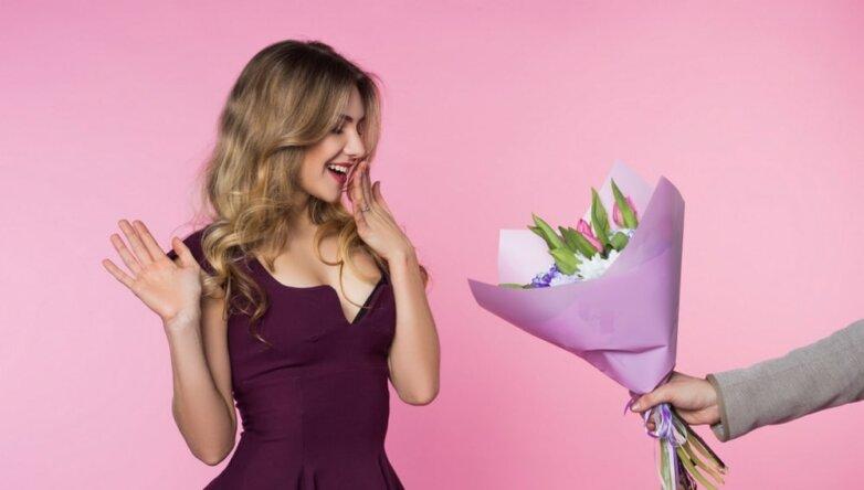 8 марта, праздник, подарок, цветы, букет