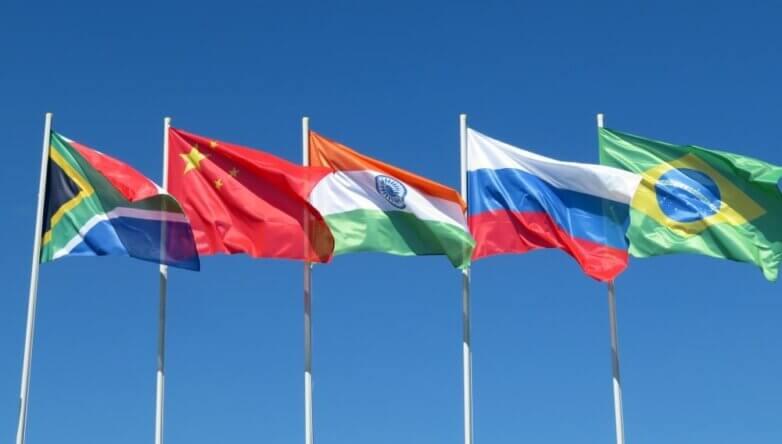 Флаги стран БРИКС, BRICS