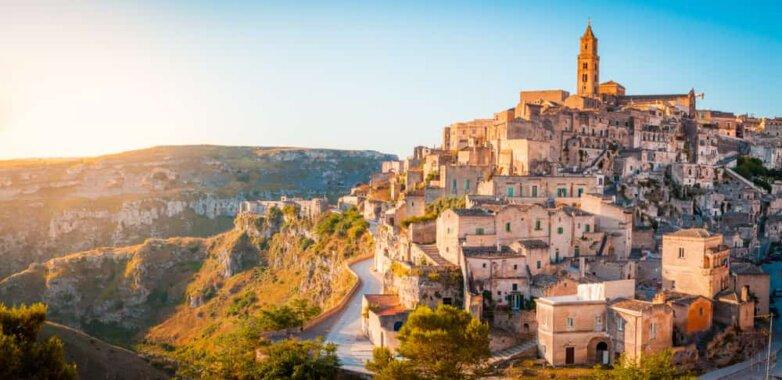 Город Матера, Италия
