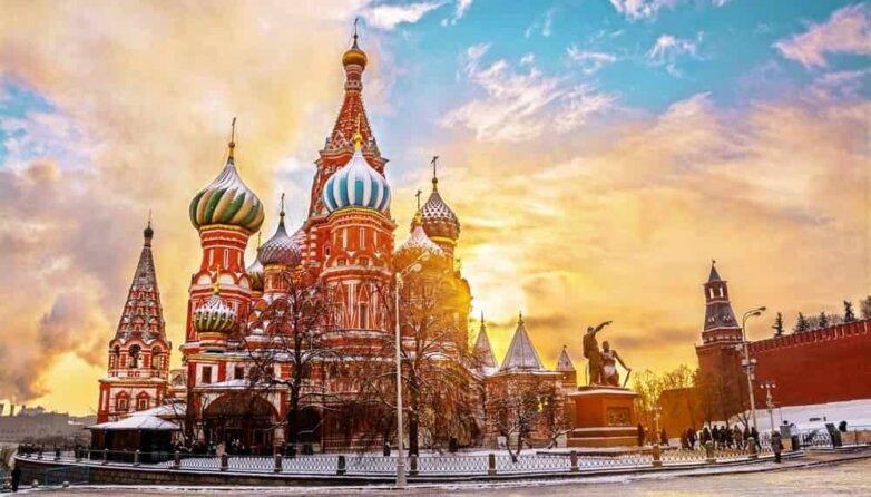 Собор Василия Блаженного, Красная площадь, Кремль, Москва