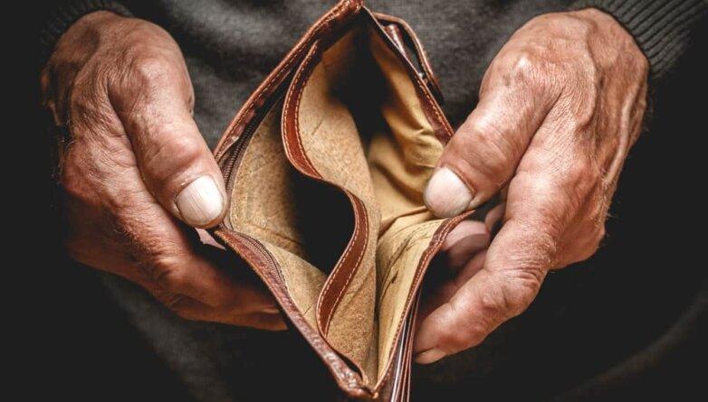 Пустой кошелёк бедность нет денег