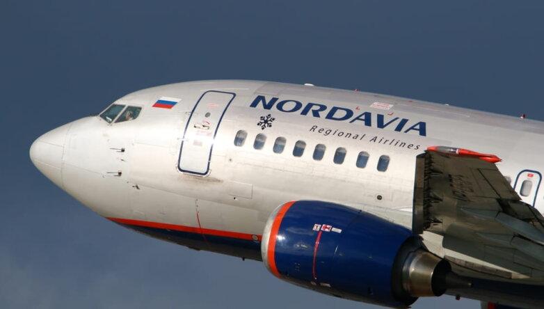 Самолёт, авиакомпания Нордавиа, Nordavia