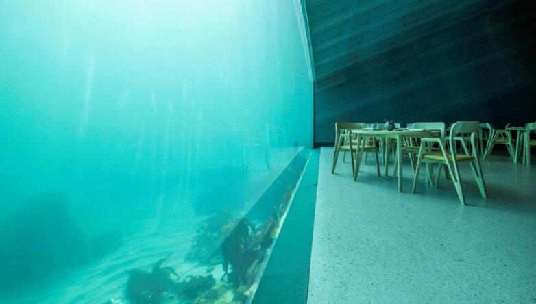 Подводный ресторан Under, Норвегия