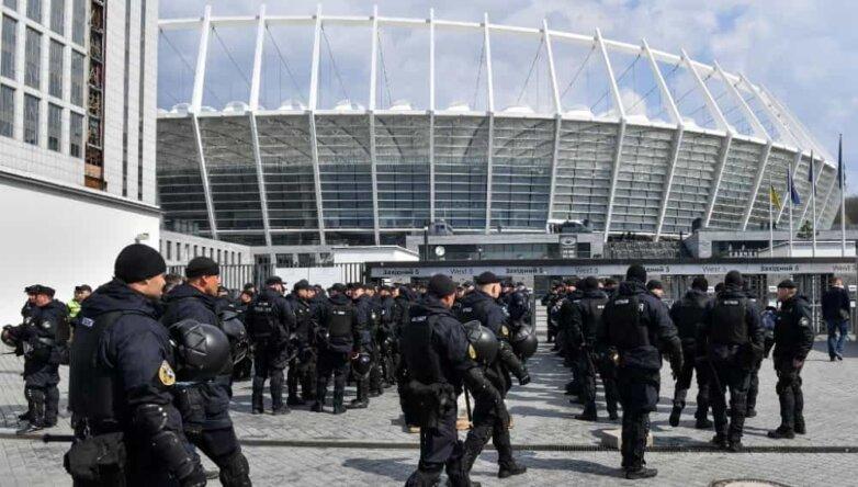 Стадион «Олимпийский» в Киеве